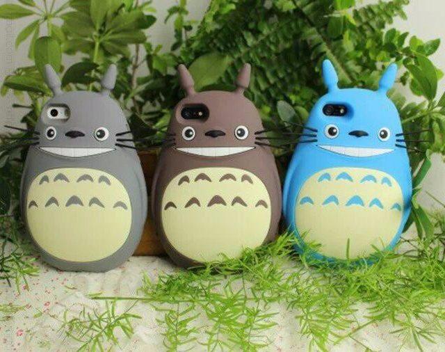 3D Cute Totoro iPhone Case