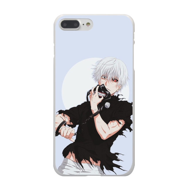 Anime Tokyo Ghoul Hard White iPhone Case