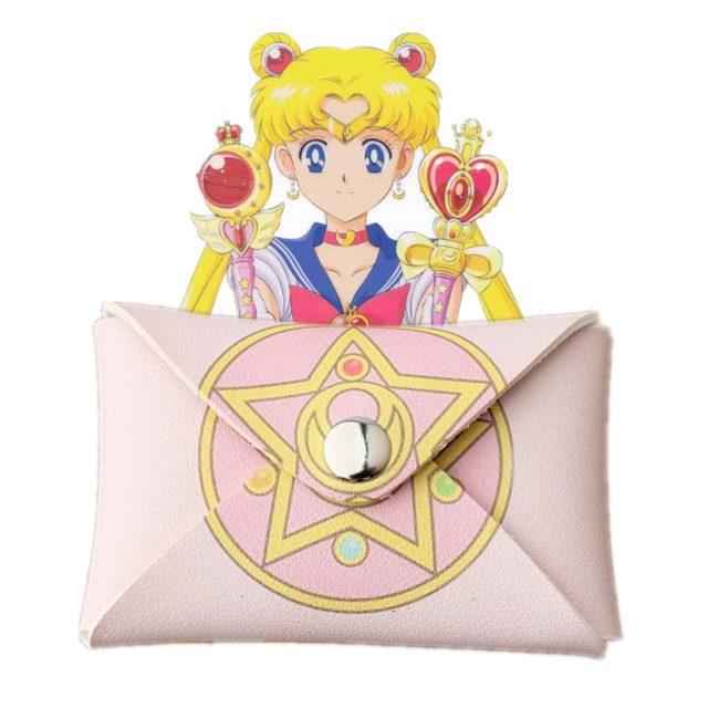 Sailor Moon Anime Star Prism Mini Wallet