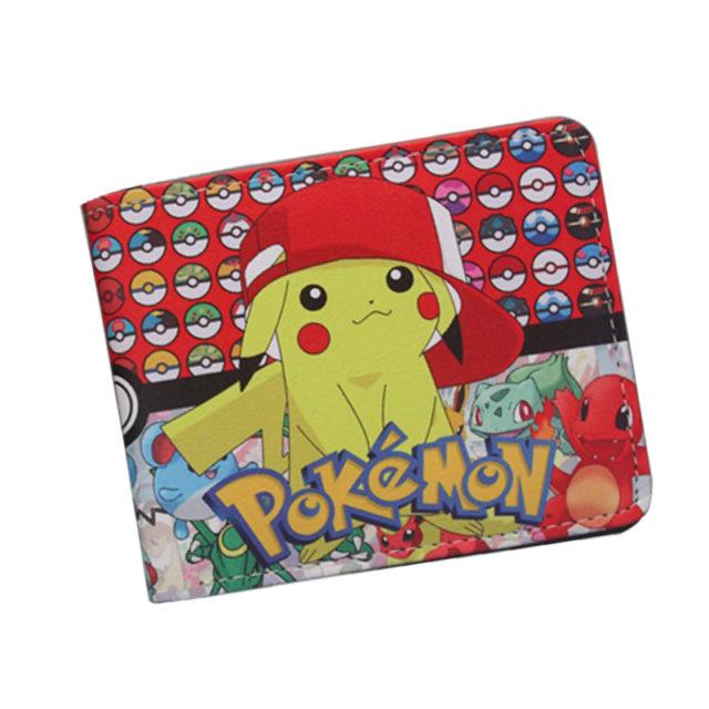Unisex Pokemon Themed Wallet