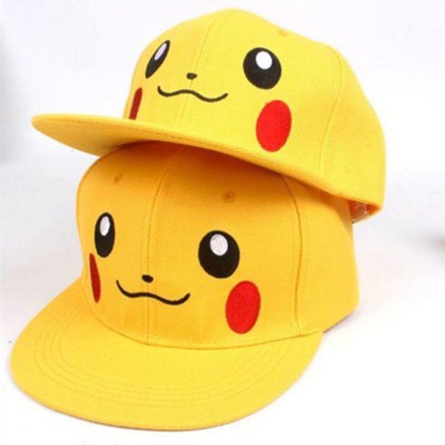 Pokemon Pikachu Shaped Baseball Cap