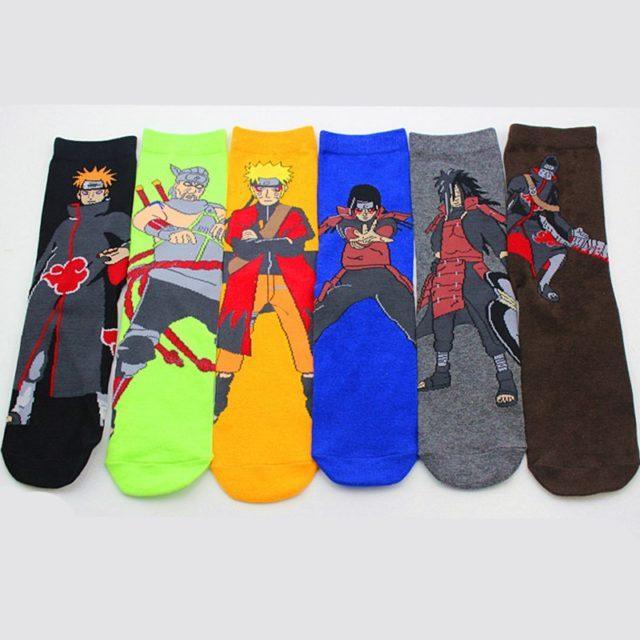 Anime Naruto Soft Warm Cotton Socks