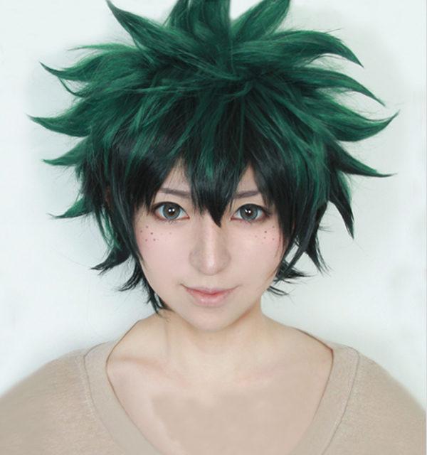 My Hero Academia Izuku Midoriya Anime Cosplay Wig