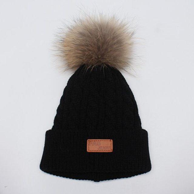 Children's Winter Knitted Hat