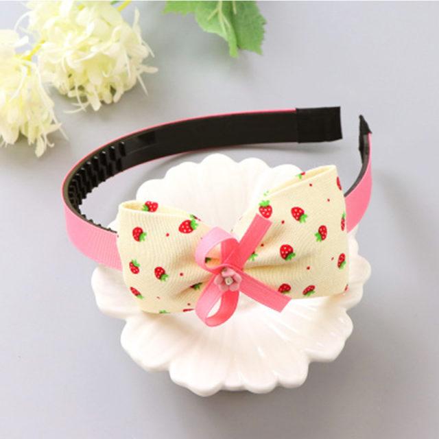 Fashion Plastic Big Bows Headbands