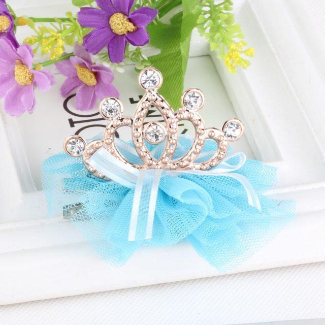 Baby Girl's Shiny Rhinestone Crowns