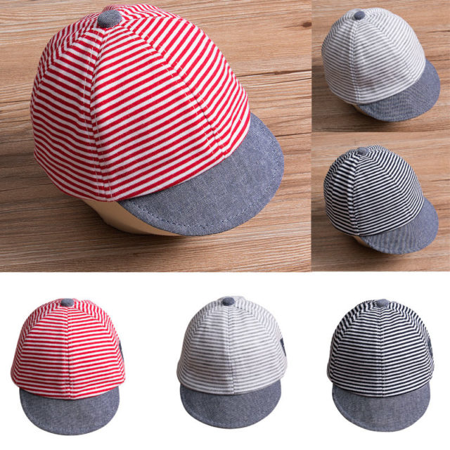 Summer Cotton Baby Boy Cap