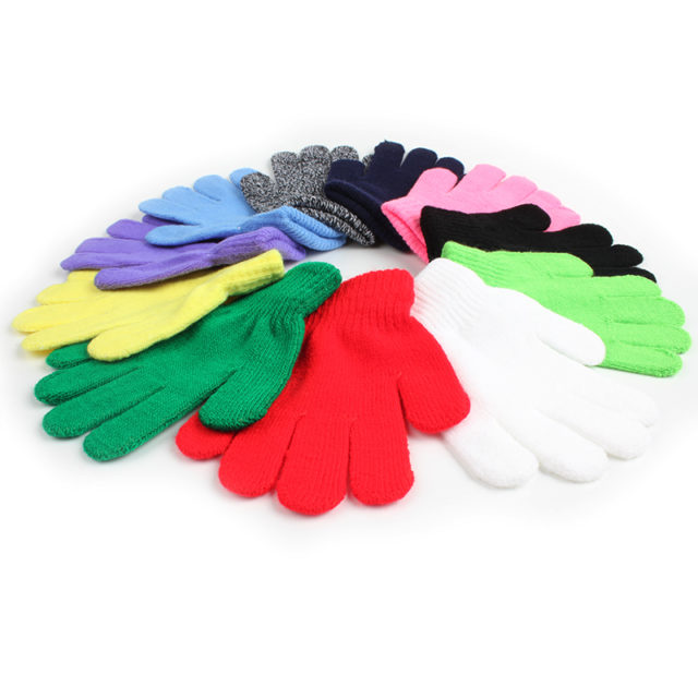 Comfortable Stretchable Warm Kid's Gloves