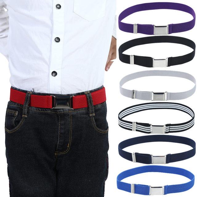 Fashion Elastic Canvas Belt for Boys