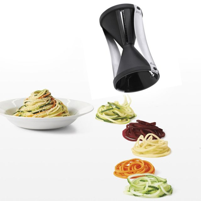 Double Spiral Vegetable Grater