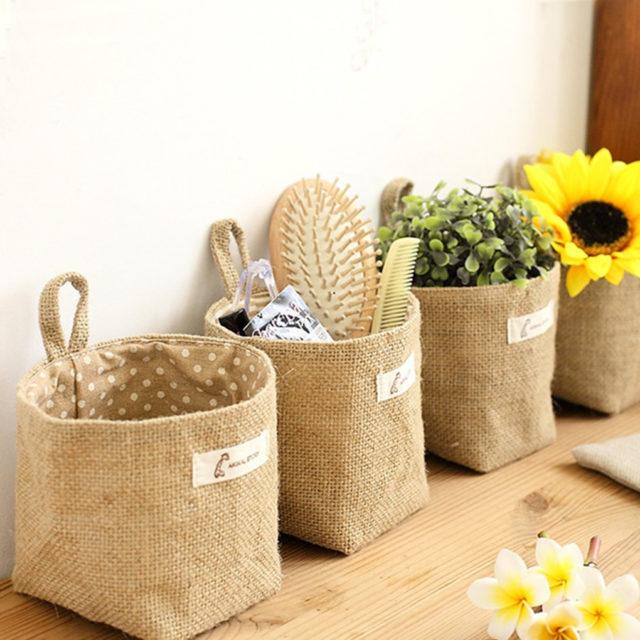 Eco-Friendly Soft Storage Basket