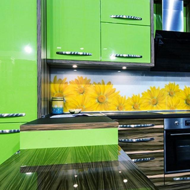 Waterproof Colorful Vinyl Wallpaper for Kitchen Decor