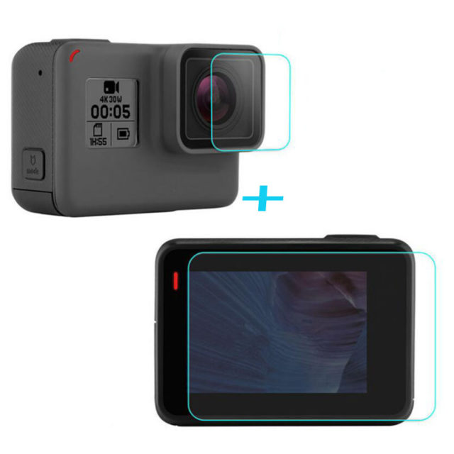 Glass Screen Protective Films For GoPro Hero