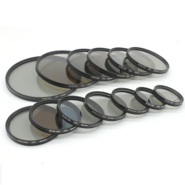 Circular Polarizing Camera Filter