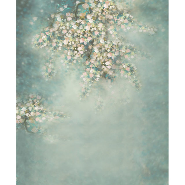 Flower Pattern Vinyl Backdrop