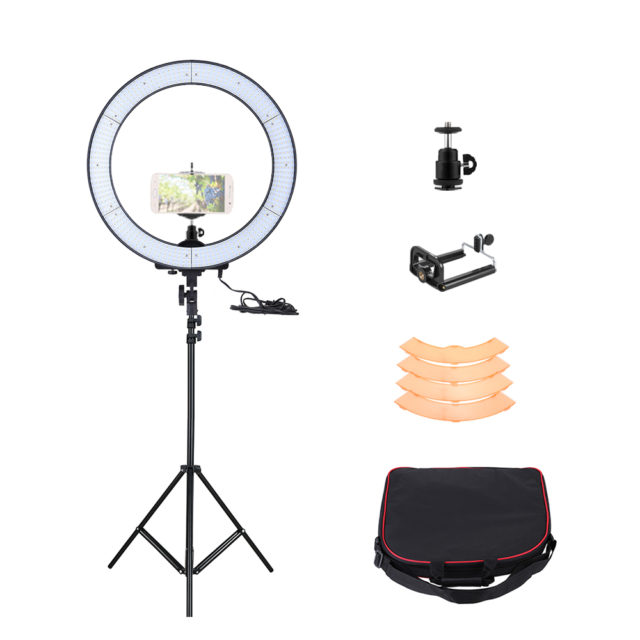 LED Photographic Lighting Kit with Tripod