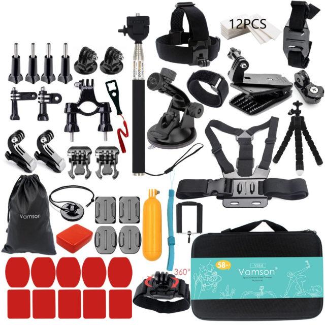 Sport Camera Accessories Set