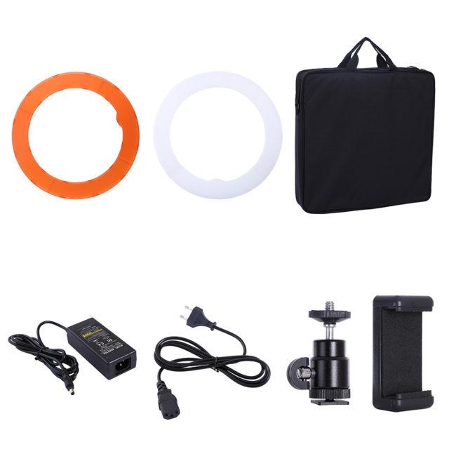 Studio Camera Photo Phone LED Ring with Tripod