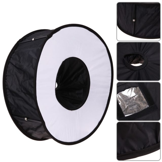Round Flash Softbox