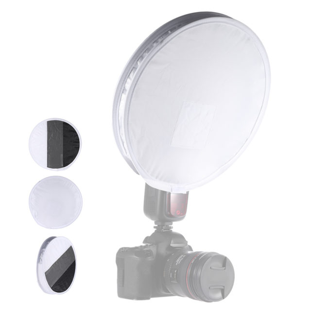 Universal Round Portable Flash Diffuser