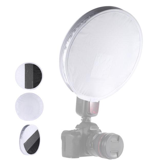 Universal Round Portable Flash Diffuser
