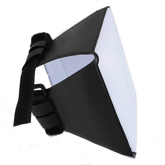 Universal Folding Flash Diffuser