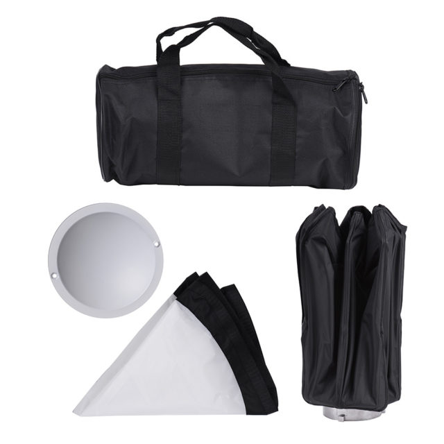 8-Pole Folding Dish Softbox