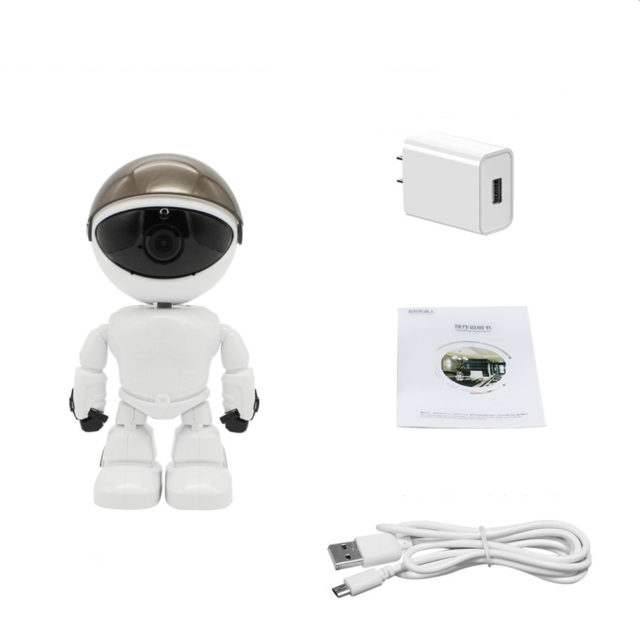 WiFi Nursery Panning Camera Robot