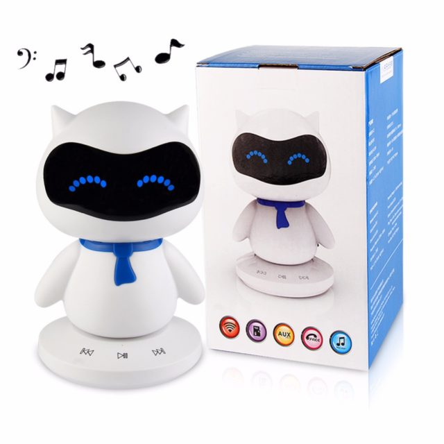 Cute Cat Mini Wireless Robot Speaker