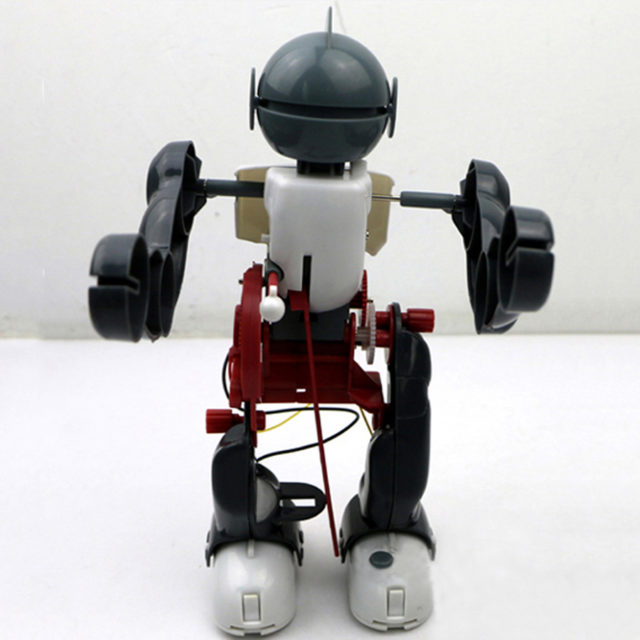 DIY Tumbling and Dancing Toy Robot