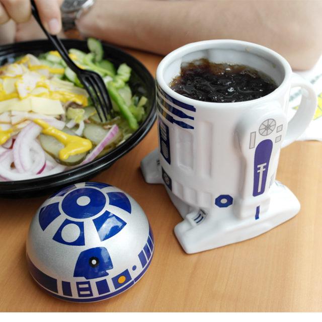 Robot R2-D2 Design 3D Ceramic Mug
