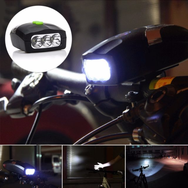 Bright Bicycle Front LED Light