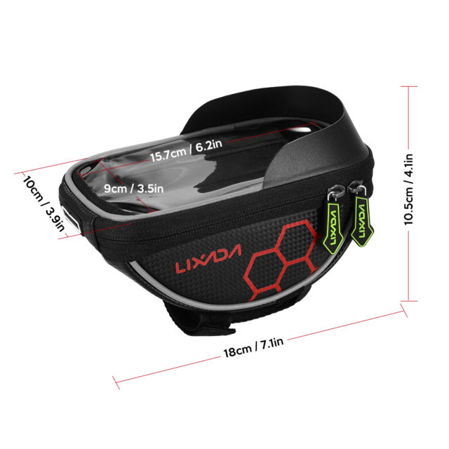 Cycling Front Frame Phone Bag