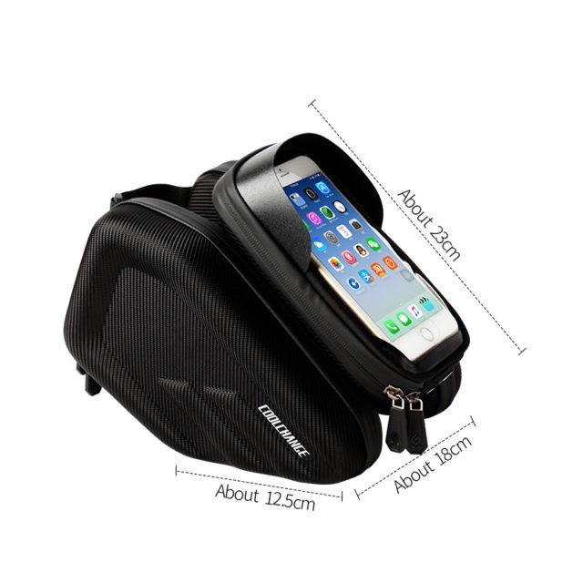 Simple Style Waterproof Front Frame Phone Bag