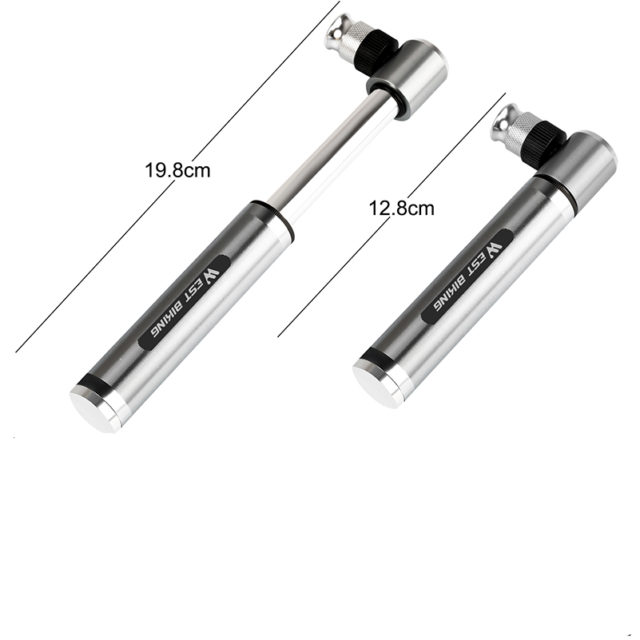 Portable Hand Aluminum Bicycle Pump