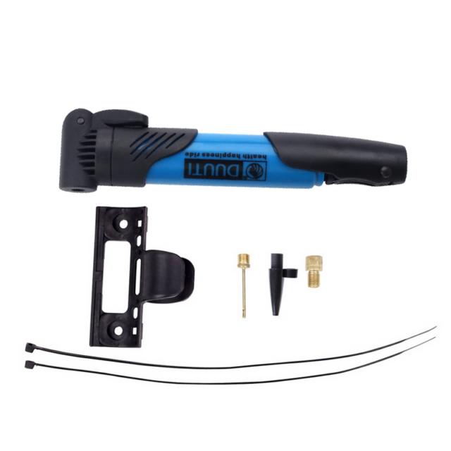 Mini High-Strength Plastic Bicycle Air Pump
