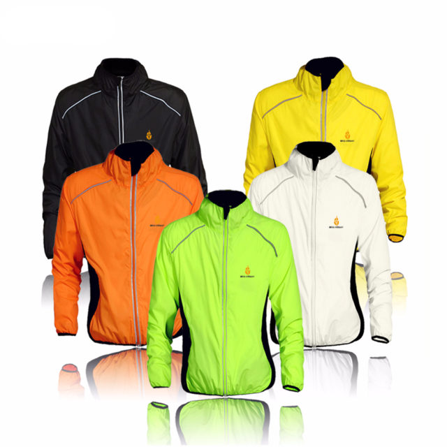 Reflective Windproof Cycling Jackets