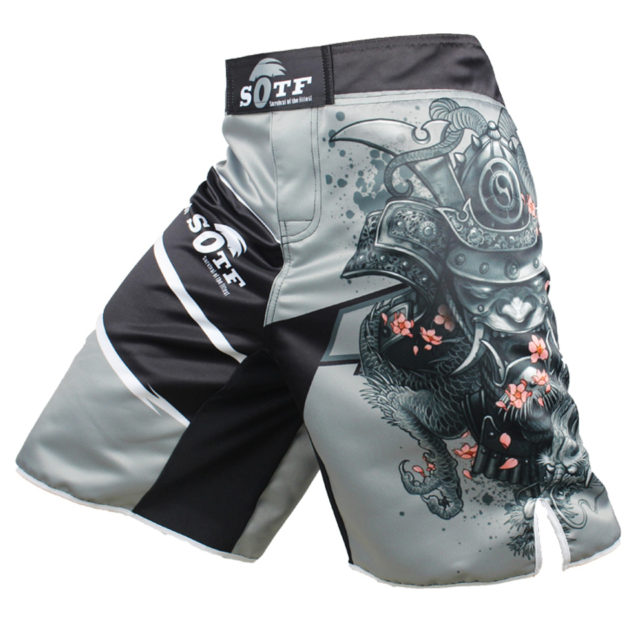 Men's Japanese Style Gray Sports Shorts