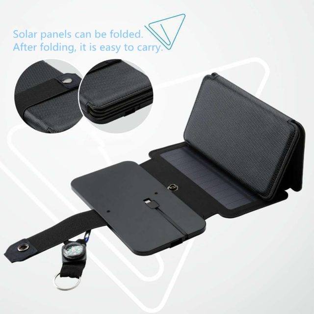 5/4 Panels Solar Power Foldable Charger