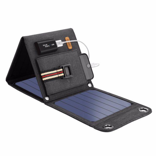 14W USB Solar Cells Charger 5V
